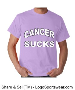 Cancer Sucks T-Shirts Design Zoom
