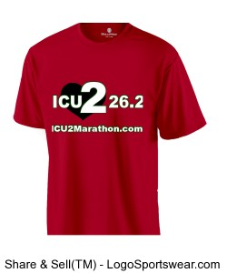 ICU 2 26.2 Holloway Wicking T-Shirt Design Zoom